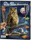 Noris 609240703 - Schipper Malen nach Zahlen - Uhu Herrscher der Nacht, 24 x 30 cm