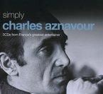 Simply Charles Aznavour (3cd Tin)