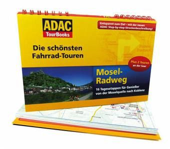 adac tourbooks die sch nsten fahrrad touren mosel. Black Bedroom Furniture Sets. Home Design Ideas