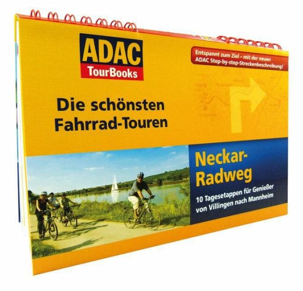 adac tourbooks die sch nsten fahrrad touren neckar. Black Bedroom Furniture Sets. Home Design Ideas