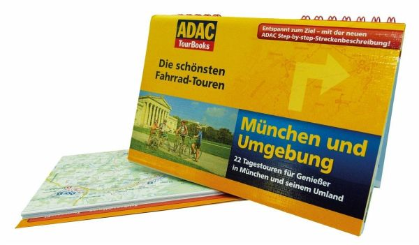 adac tourbooks die sch nsten fahrrad touren m nchen. Black Bedroom Furniture Sets. Home Design Ideas