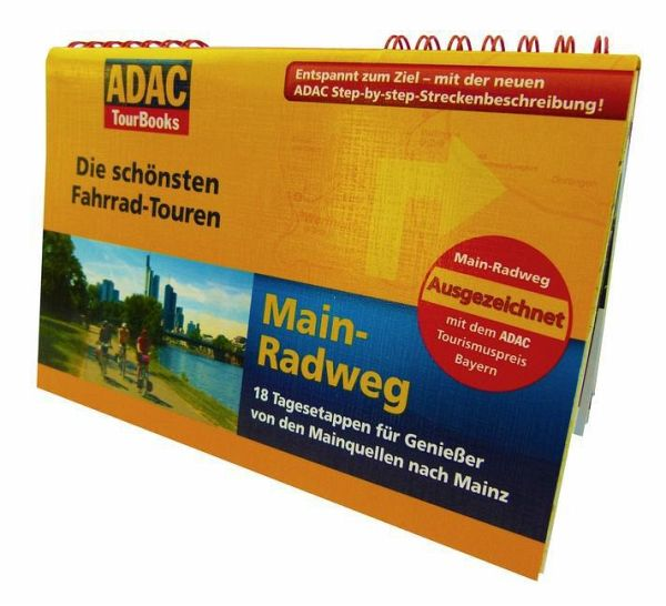 adac tourbooks die sch nsten fahrrad touren main. Black Bedroom Furniture Sets. Home Design Ideas