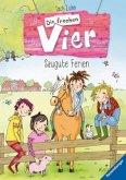 Saugute Ferien / Die frechen Vier Bd.2 (Mängelexemplar)