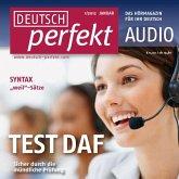 Deutsch lernen Audio - TestDaF, Mündlicher Ausdruck (MP3-Download)