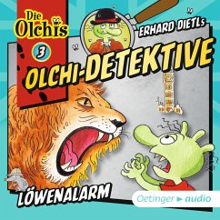 Löwenalarm / Olchi-Detektive Bd.3 (MP3-Download) - Iland-Olschewski, Barbara