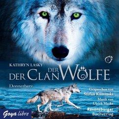 Donnerherz / Der Clan der Wölfe Bd.1 (MP3-Download) - Lasky, Kathryn