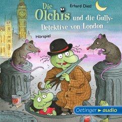 Die Olchis und die Gully-Detektive von London / Die Olchis-Kinderroman Bd.7 (MP3-Download) - Dietl, Erhard