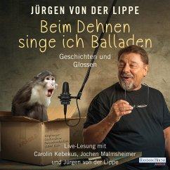 Beim Dehnen singe ich Balladen (MP3-Download) - Lippe, Jürgen von der