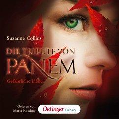Gefährliche Liebe / Die Tribute von Panem Bd.2 (MP3-Download) - Suzanne Collins