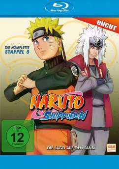 Naruto Shippuden - Die komplette Staffel 5 (Uncut) - N/A