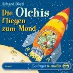 Die Olchis fliegen zum Mond / Die Olchis-Kinderroman Bd.2 (MP3-Download)