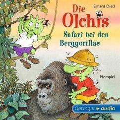 Safari bei den Berggorillas / Die Olchis-Kinderroman Bd.8 (MP3-Download) - Dietl, Erhard
