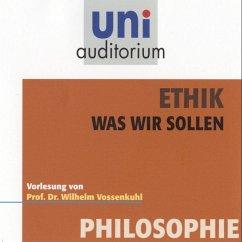 Ethik - Was wir sollen (MP3-Download) - Vossenkuhl, Wilhelm