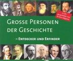 Große Personen der Geschichte - Entdecker und Erfinder (MP3-Download)
