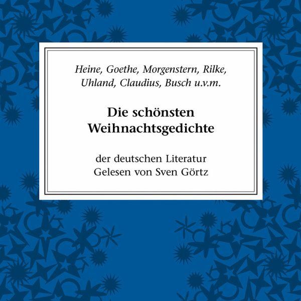 die sch nsten weihnachtsgedichte der deutschen literatur. Black Bedroom Furniture Sets. Home Design Ideas
