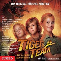 Tiger-Team: Der Berg der 1000 Drachen (MP3-Download) - Brezina, Thomas C.