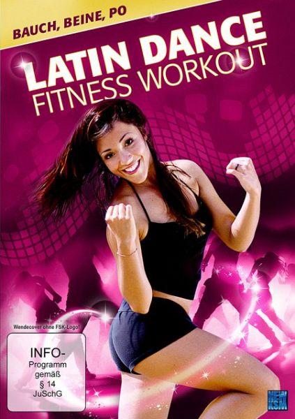 latin dance fitness workout bauch beine po film auf dvd. Black Bedroom Furniture Sets. Home Design Ideas