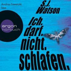 Ich. darf. nicht. schlafen (MP3-Download) - Watson, S. J.