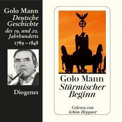 Stürmischer Beginn (MP3-Download) - Mann, Golo