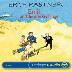 Emil und die drei Zwillinge (MP3-Download) - Kästner, Erich