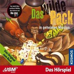 Das wilde Pack in geheimer Mission / Das wilde Pack Bd.7 (MP3-Download) - Marx, André; Pfeiffer, Boris