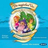 Die magischen Vier retten die Welt mit Muskelkraft, etwas Klebeband und einem Schlückchen Pfefferminztee / Die magischen Vier Bd.3 (MP3-Download)