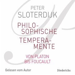 Philosophische Temperamente (MP3-Download) - Sloterdijk, Peter