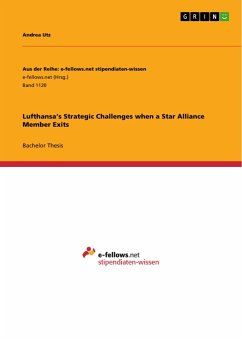 Lufthansa's Strategic Challenges when a Star Alliance Member Exits