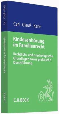Kindesanhörung im Familienrecht