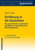Einführung in die Staatslehre (eBook, PDF)