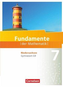 Fundamente der Mathematik 7. Schuljahr. Schülerbuch Gymnasium Niedersachsen