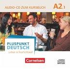 Audio-CD zum Kursbuch / Pluspunkt Deutsch - Leben in Deutschland Bd.A2/1, Tl.1