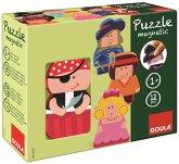 Goula D55237 - Magnetisches Holzpuzzle Figuren