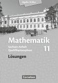 Bigalke/Köhler: Mathematik Sekundarstufe II .11. Schuljahr. Lösungen Sachsen-Anhalt