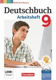 Deutschbuch 9. Jahrgangsstufe. Arbeitsheft mit Lösungen und Übungs-CD-ROM. Realschule Bayern