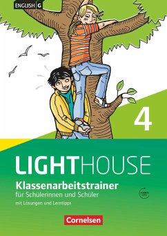 English G LIGHTHOUSE 04: 8. Schuljahr. Klassenarbeitstrainer mit Lösungen und Audios online - Schweitzer, Bärbel