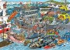 Jumbo 19012 - Jan van Haasteren, Seehafen, 500 Teile, Puzzle
