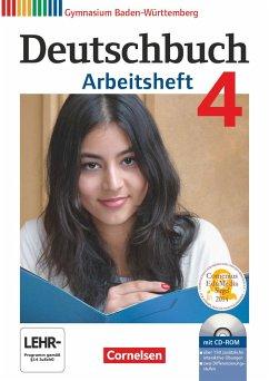 Deutschbuch 04: 8. Schuljahr. Arbeitsheft mit L...