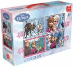 Disney 17429 - Frozen 4-in-1 Puzzle