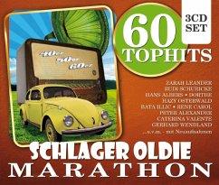 60 Top-Hits Schlager Oldie Marathon - Diverse