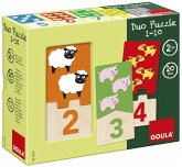 Goula D53329 - Holzpuzzle - Duo