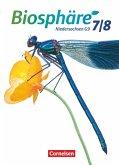 Biosphäre Sekundarstufe I. 7./8. Schuljahr. Schülerbuch Gymnasium Niedersachsen G9