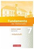 Fundamente der Mathematik 7. Schuljahr. Arbeitsheft mit Lösungen - Gymnasium Sachsen-Anhalt