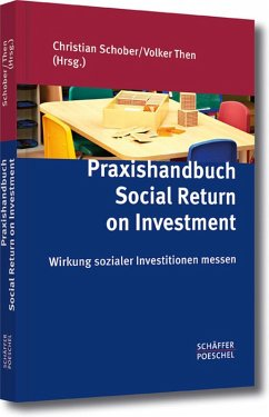 Praxishandbuch Social Return on Investment (eBook, PDF)