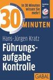 30 Minuten Führungsaufgabe Kontrolle (eBook, PDF)