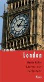 Lesereise London (eBook, ePUB)