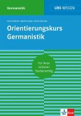 Uni-Wissen Orientierungskurs Germanistik (eBook, ePUB)