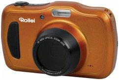 Rollei Sportsline 100 Kompaktkamera orange