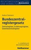 Bundeszentralregistergesetz (eBook, ePUB)