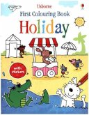 First Colouring Book Holiday